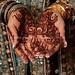 Super dark henna stain for bride =)