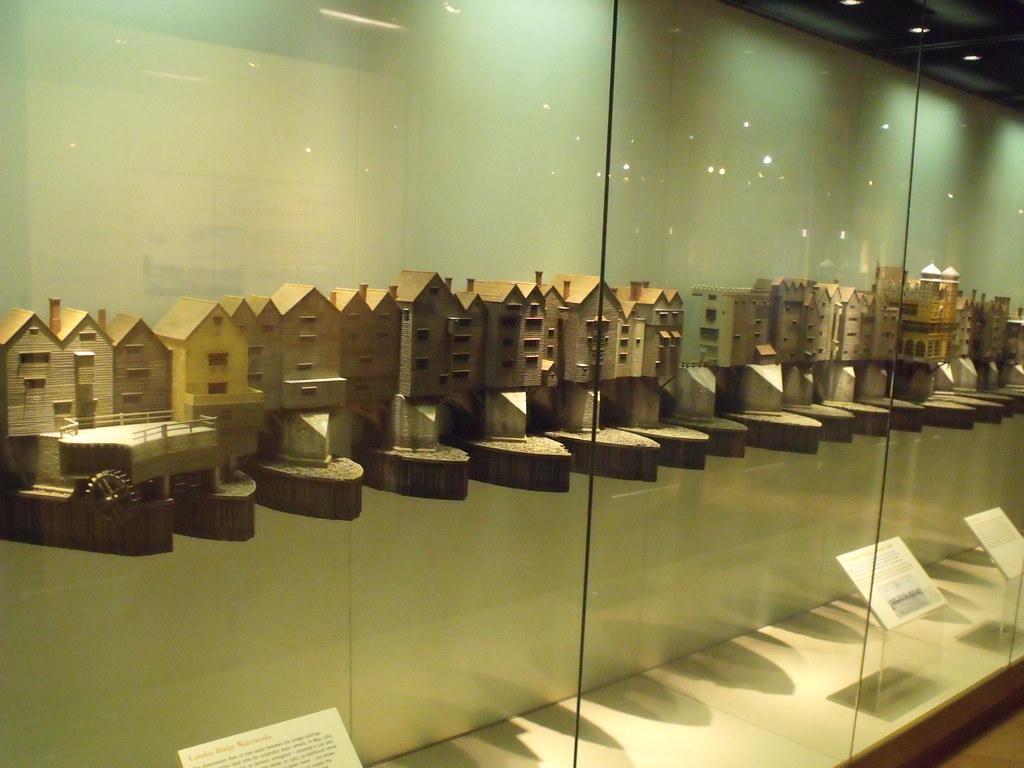 Museum Of London Docklands Model Of Old London Bridge Ci