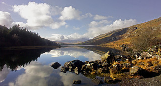 SNOWDON HORSESHOE FROM CAPEL CURIG | by Gazwil (no awards please)