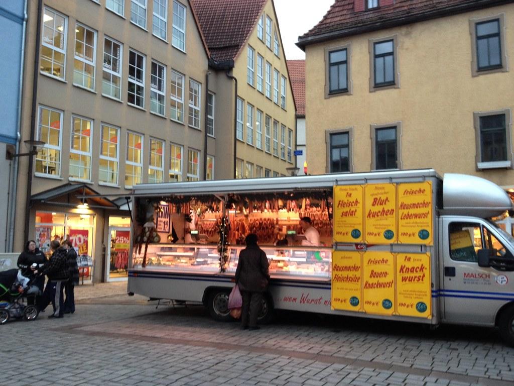 sausage food truck germany susie wyshak flickr. Black Bedroom Furniture Sets. Home Design Ideas