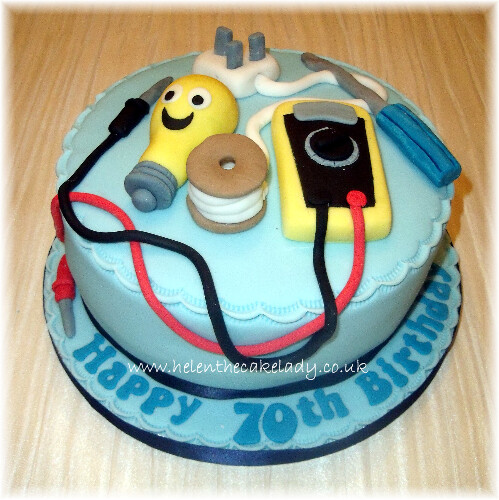Engineer Cake Design