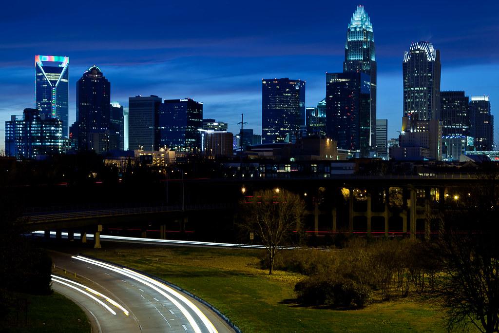 Charlotte nc skyline charlotte nc skyline flickr - Wallpaper store charlotte nc ...