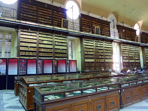 Reading room of the National Library of Malta (Valletta) | by Frans.Sellies