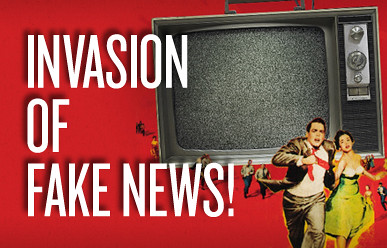 Image result for invasion of fake news