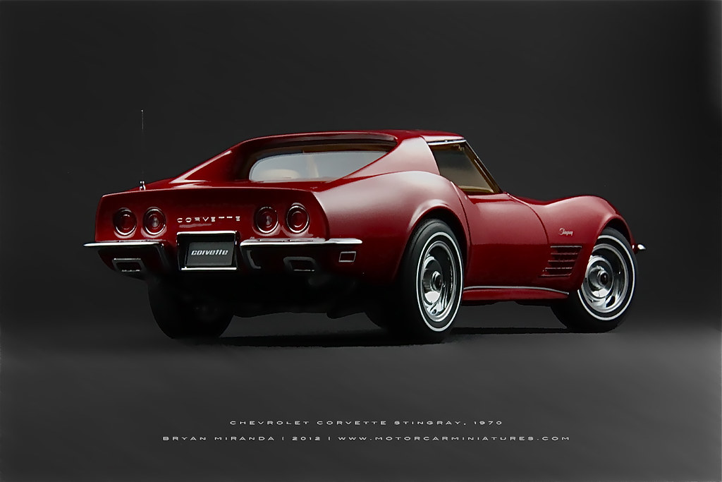 Chevrolet Corvette Stingray >> Chevrolet 1970 Corvette Stingray in Monza Red | AUTOart 1:18… | Flickr