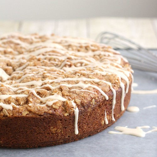 Pumpkin Streusel Coffee Cake | by Tracey's Culinary Adventures
