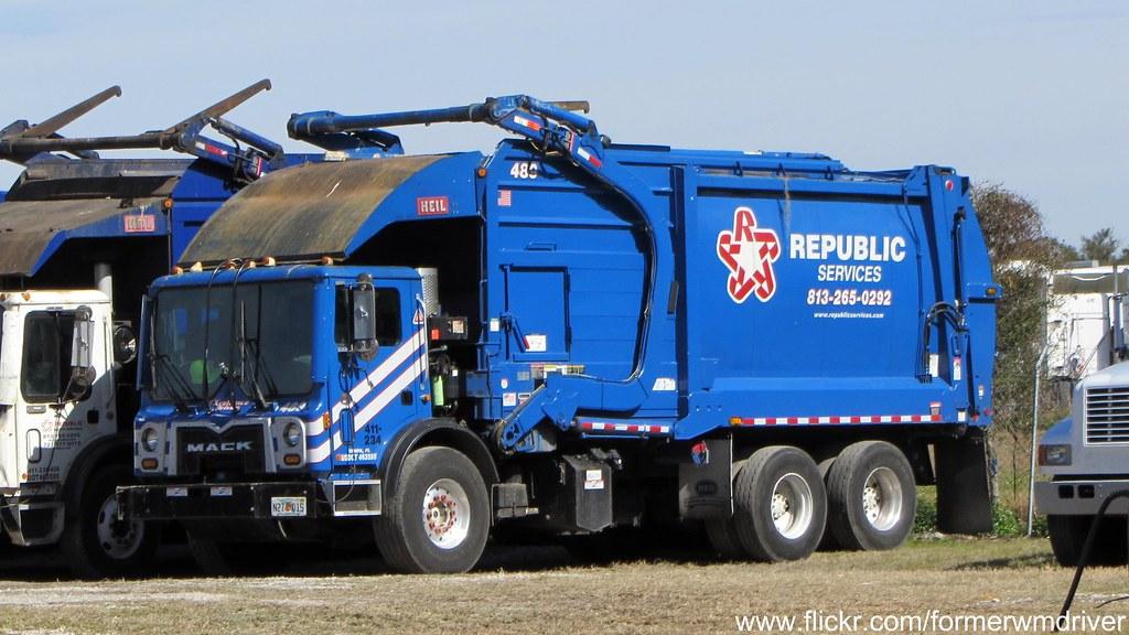Republic Services Mack Mru Heil Fel 489 411 234