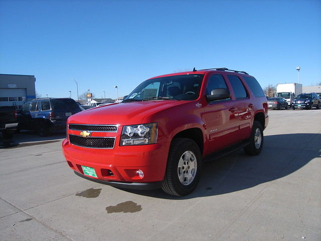 2012 chevy tahoe victory red 4x4 for sale at fitzpatrick. Black Bedroom Furniture Sets. Home Design Ideas