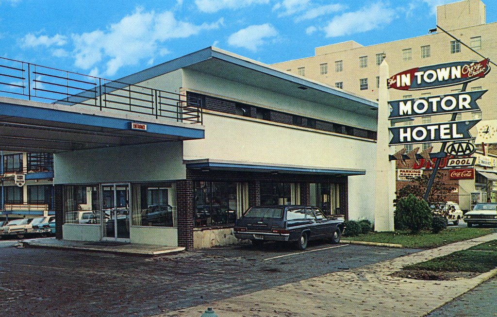 In town motor hotel chevy chase md 6800 wisconsin avenue for Motor inn city ave