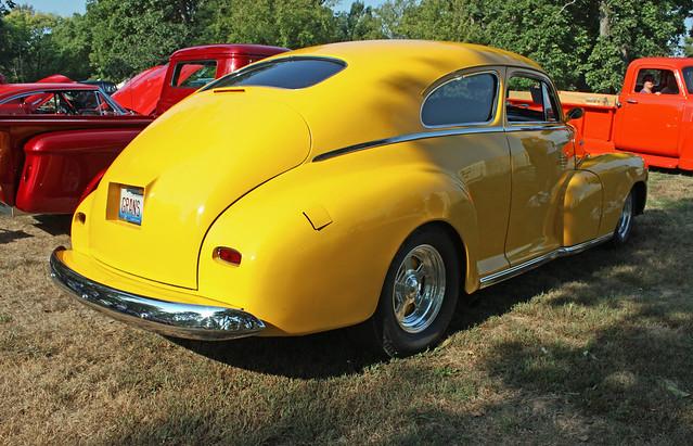 1948 chevrolet fleetline 2 door aerosedan custom 6 of 7 for 1948 chevy 2 door
