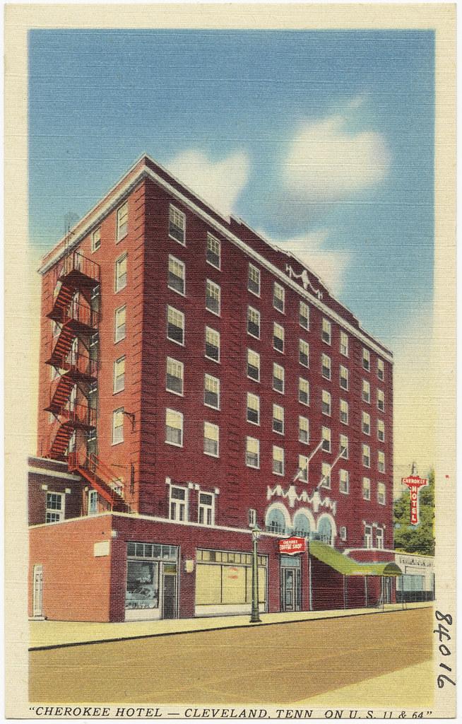 cherokee hotel cleveland tenn on u s 11 64 flickr. Black Bedroom Furniture Sets. Home Design Ideas