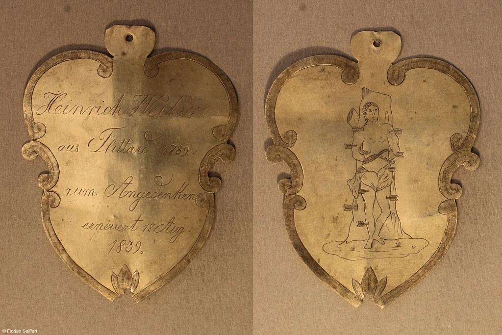 Koenigsschild Flittard von weiler heinrich aus dem Jahr 1789