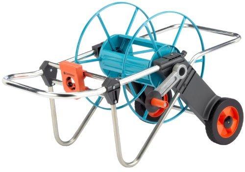 gardena 2674 262 foot wheeled metal garden hose reel with flickr. Black Bedroom Furniture Sets. Home Design Ideas