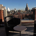 Brooklyn Fairfield Inn Hotel rooftop lounge