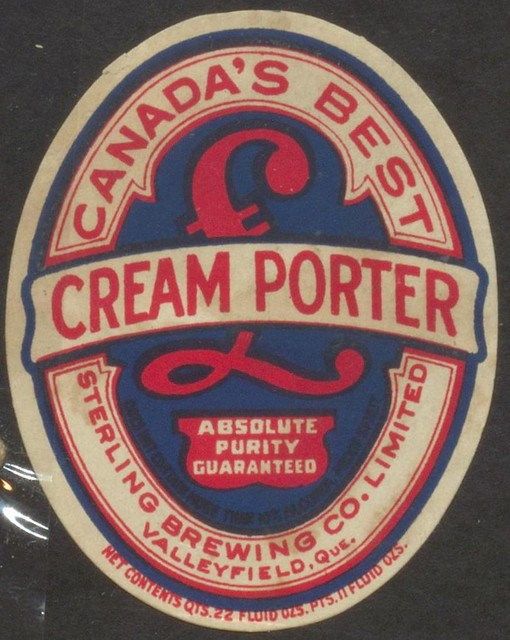 Canada 39 s best cream porter creator sterling brewing co for Porter canada