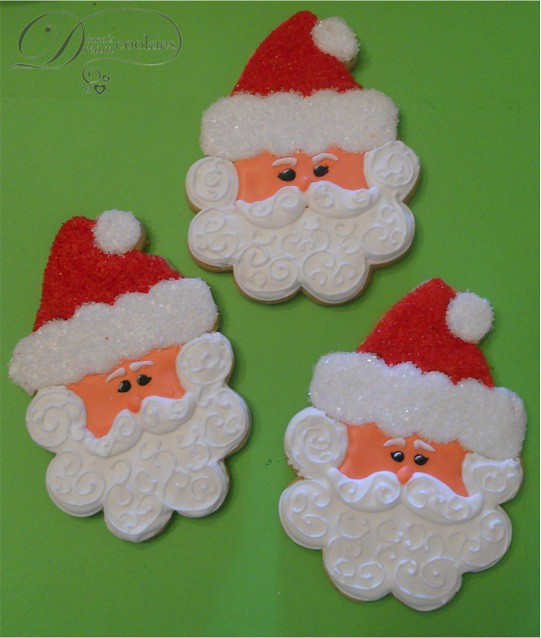Santa Claus Sugar Cookies Hugely Inspired By Sweet