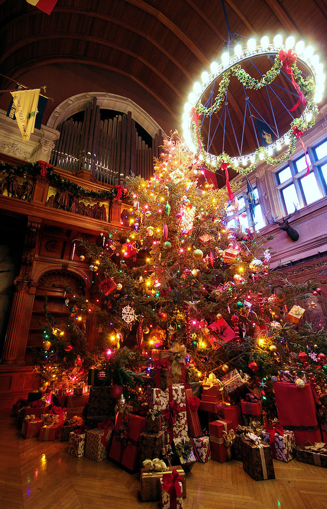 Christmas at biltmore house christmas decorations inside - Pictures of homes decorated for christmas on the inside ...