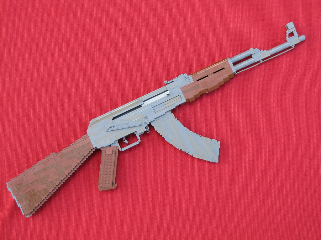 AK-47 Assault Rifle: A LEGO® creation by Jack Bittner : MOCpages.com