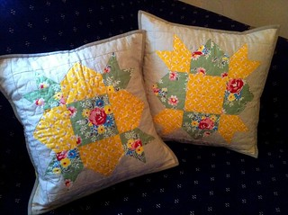 Cushions for Oma and Opa | by Sew Cherry ;)