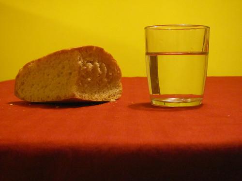 pane e acqua  bread and water
