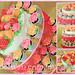 Cake & Cupcakes Tower for Farah Jida
