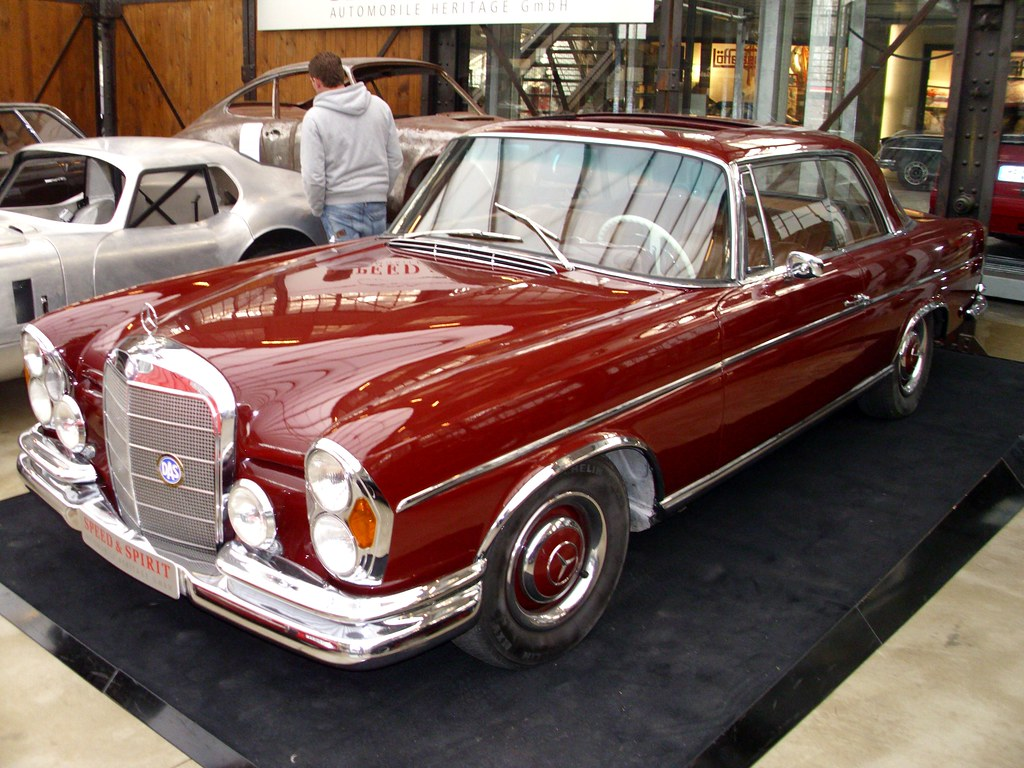 Mercedes benz 250 se coup 1967 1 classic remise for Mercedes benz 250 se