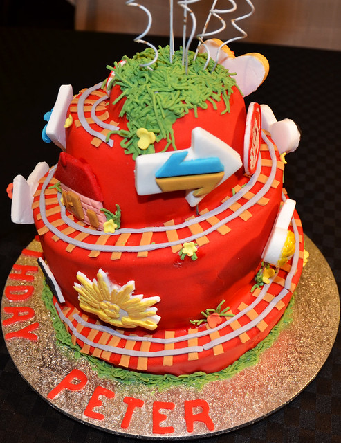 Cake Decorating Gardeners Road : Life Road Cake Flickr - Photo Sharing!