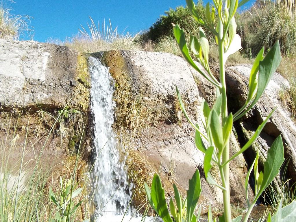 Circuito Zonda San Juan : Cascada el palque zonda san juan argentina