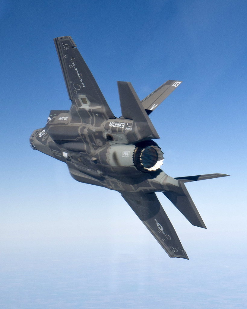 f 35b in flight in preparation for delivery f 35b product flickr. Black Bedroom Furniture Sets. Home Design Ideas