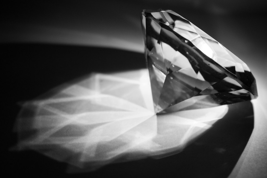 Black And White Diamond Ok So I Used 3x A4 Papers 1x