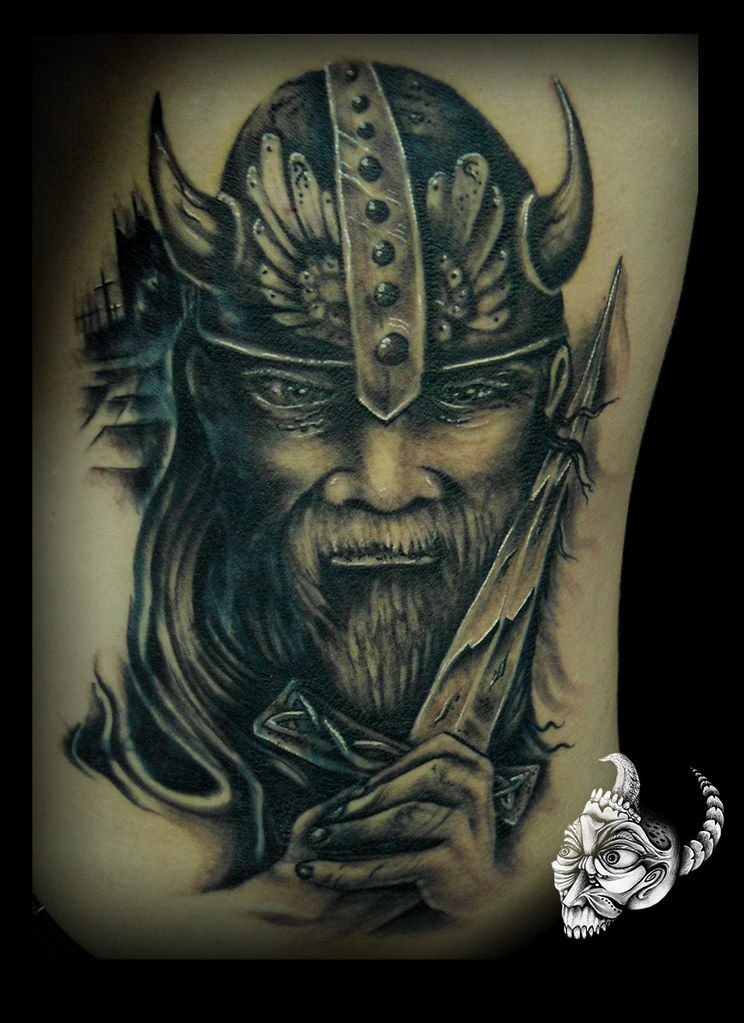 vikingo Tattoo by Sebastian Vinasco | Store Tattoo | Flickr