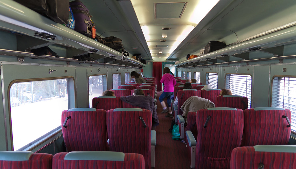 The Ghan Inside The Train The Red Service Seat Www