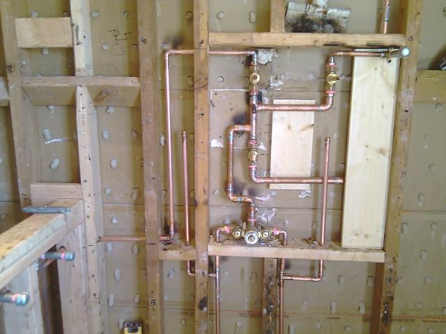 Intricate valve plumbing for hand held sprayer amp back sp flickr