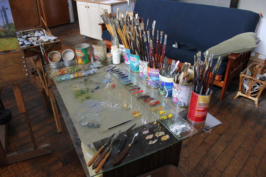 Conor o 39 brien 39 s studio at lowe mill in huntsville al flickr - Lowes huntsville al ...