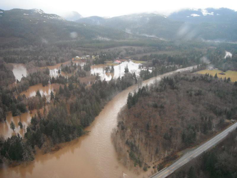 Sayward Area Flooding | Major rainfall causes higher ...