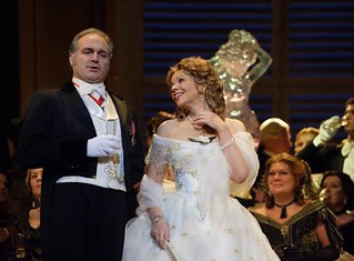 Renée Fleming in La traviata  © Catherine Ashmore/ROH 2011 | by Royal Opera House Covent Garden