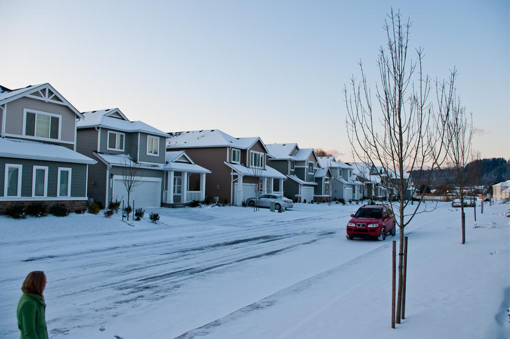 Subarban >> Snowy Suburban Street Scene | My Blog | Bryan | Flickr