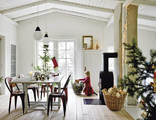 a swedish christmas home | by the style files