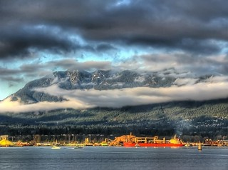 North Shore Mountains, Vancouver | by wynonna