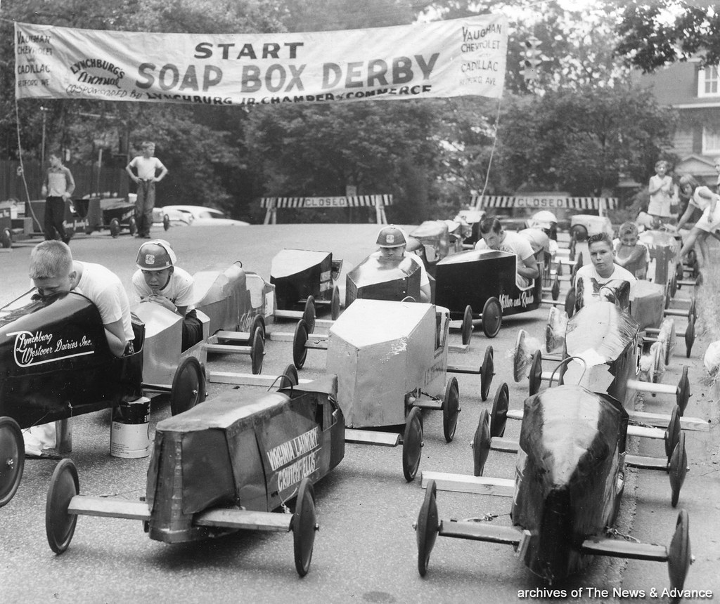 Auto Credit Of Virginia >> Soap Box Derby in Lynchburg, Virginia - July 1959 | from the… | Flickr
