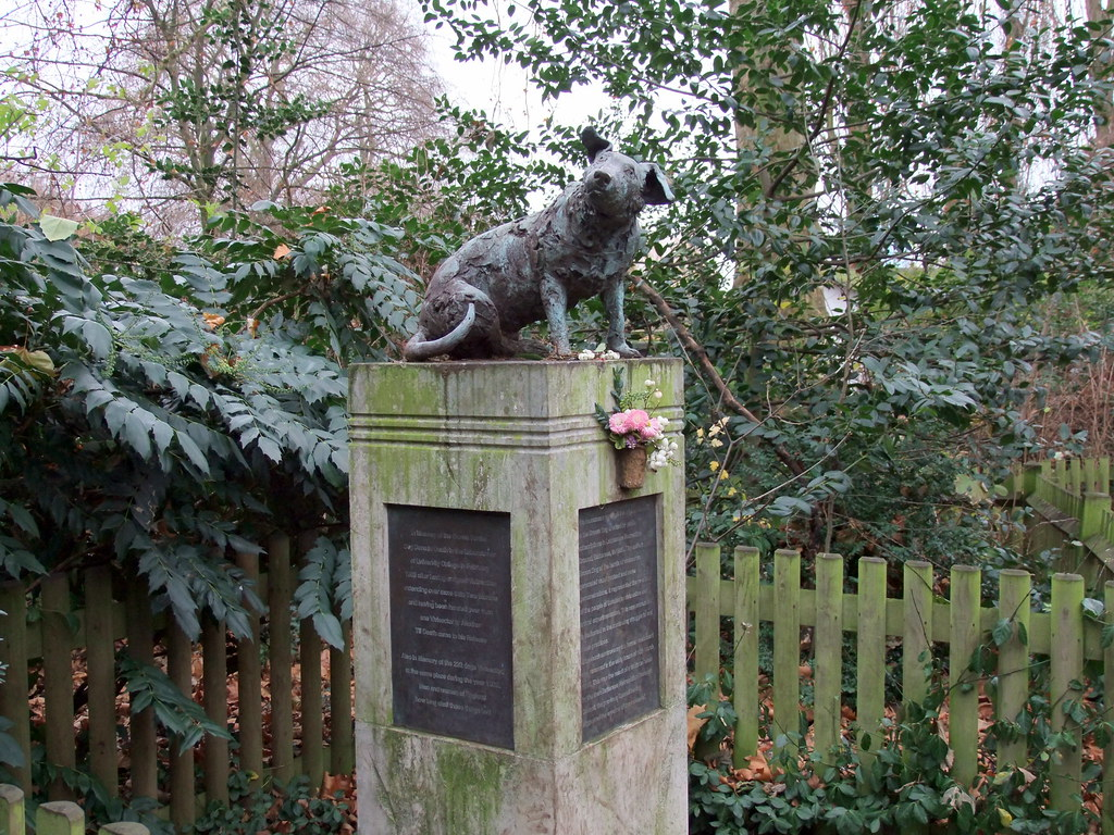 Brown Dog Statue, Battersea Park