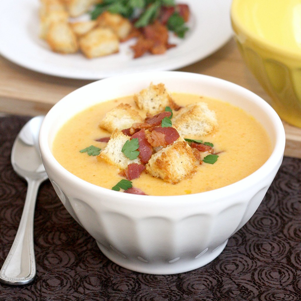 how to make croutons for soup