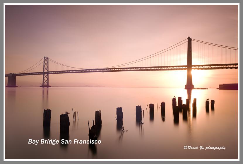 bay bridge san francisco bay bridge san francisco sunrise flickr. Black Bedroom Furniture Sets. Home Design Ideas
