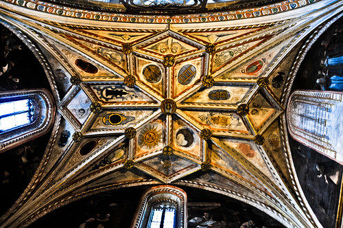 Chapel Ceiling inside the Cathedral of Santa María de Segovia Spain | by mbell1975