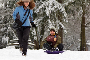 Sledding with Nathan | by Snutur