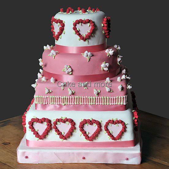 Romantische Hochzeitstorte Ute Kosmell Flickr