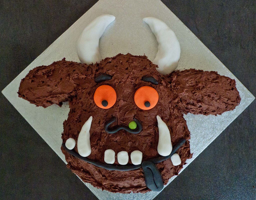 Gruffalo Cake Not The Best Picture I Made It This