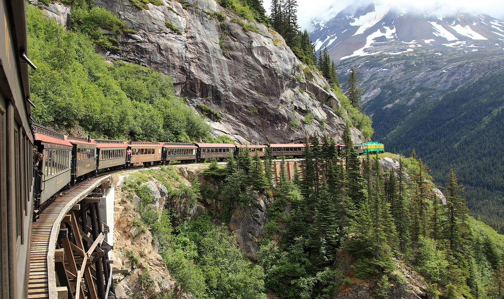 White Pass Railroad, Skagway, Alaska | Lens: Canon EF 24