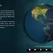 """Globe Control Screen from """"Climate Change: Miami"""""""