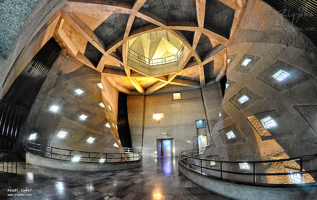 Photo of Azadi Tower interior - One for the Road